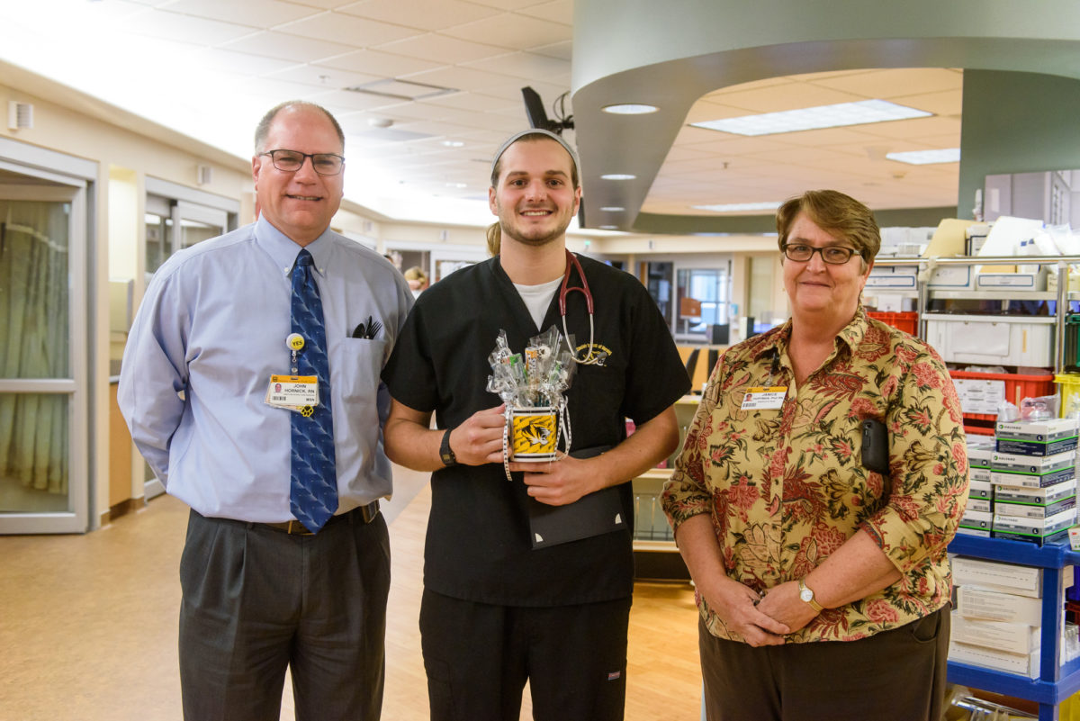 University Hospital Recognizes Student