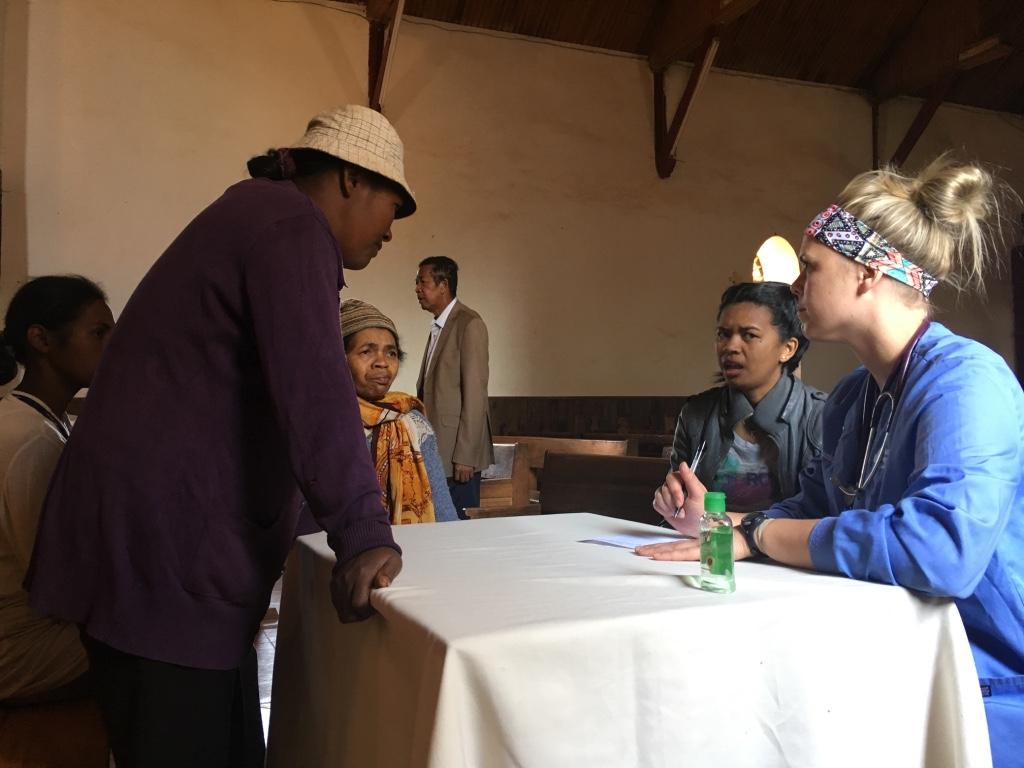 Student Practices 'Quick' Medicine in Africa