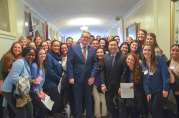 Students Meet With State Legislators