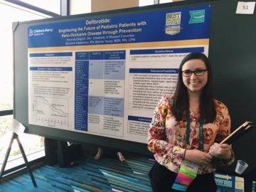 Student Presents Poster at Pediatric Conference