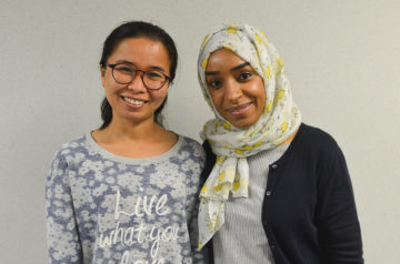 PhD Students Inducted into Griffiths Leadership Society