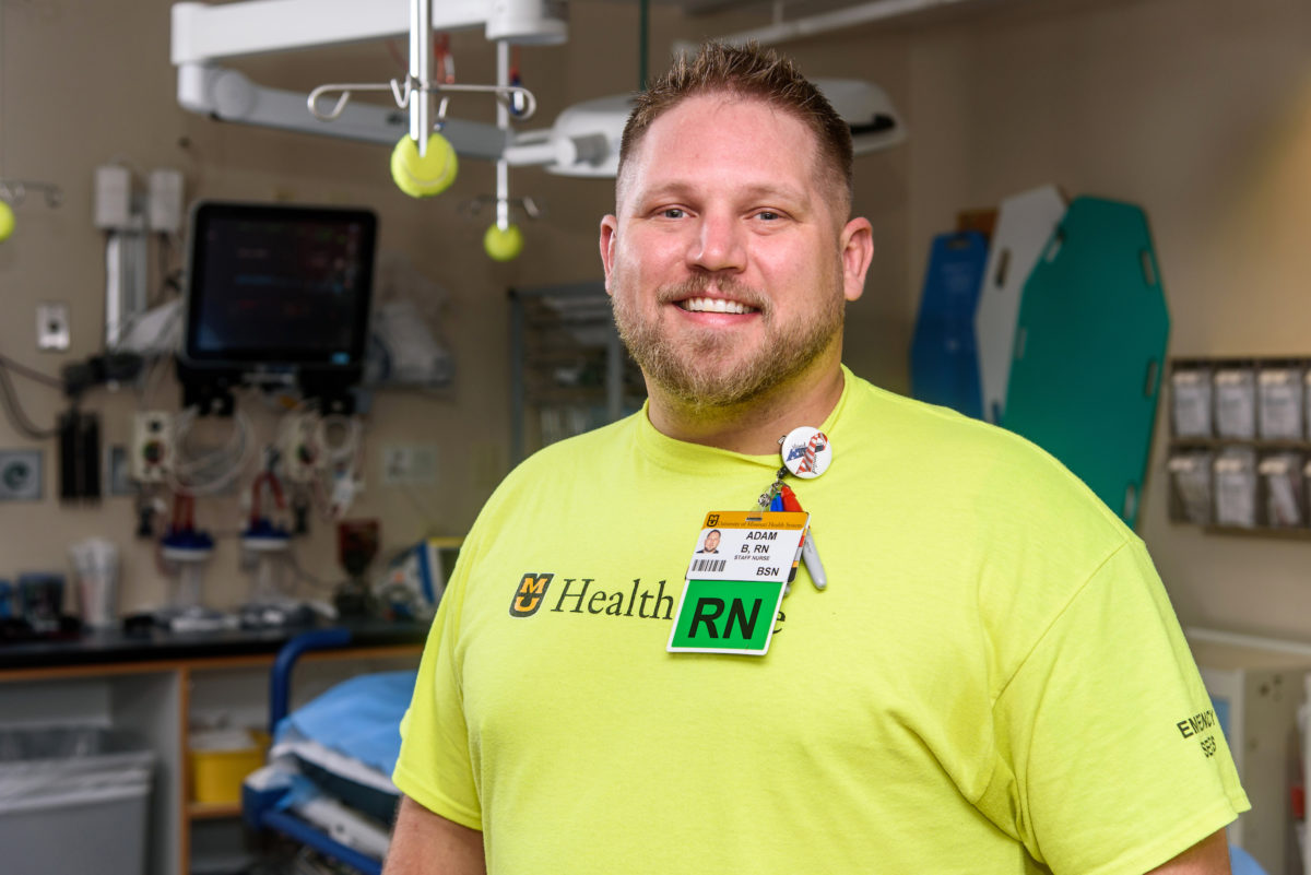 Nursing School Connected Army Veteran to His Job in the Emergency Room