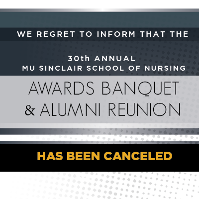 Awards Banquet And Alumni Reunion Cancellation