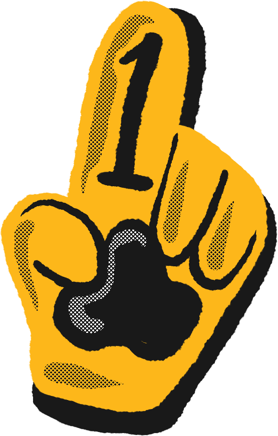 foam finger image