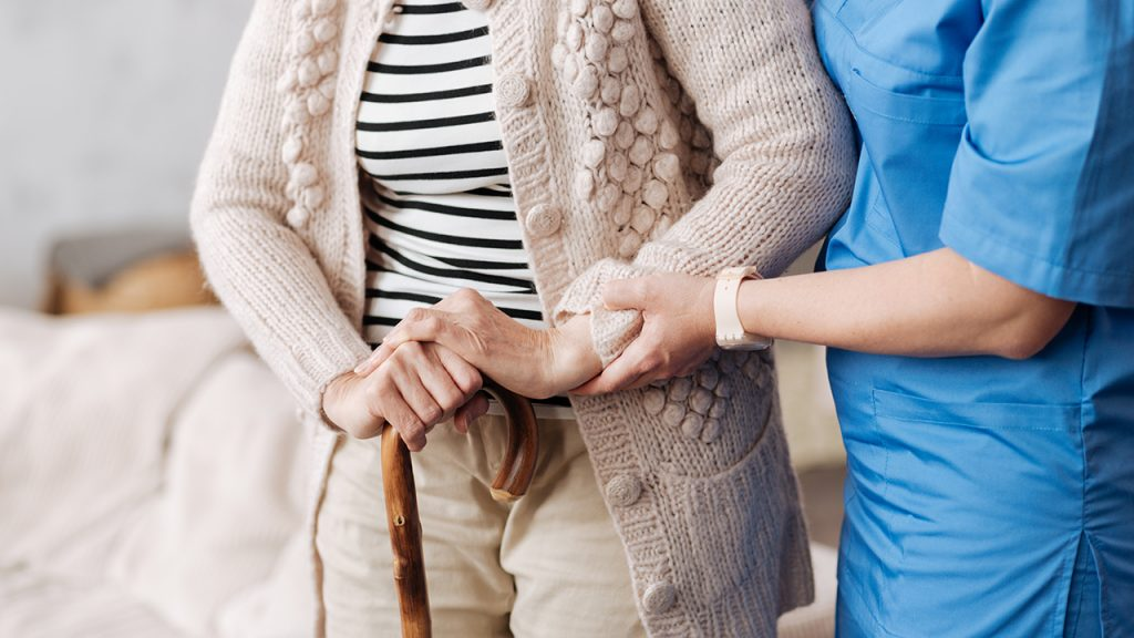Photo of elderly care